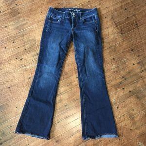 American Eagle Artist dark wash jeans